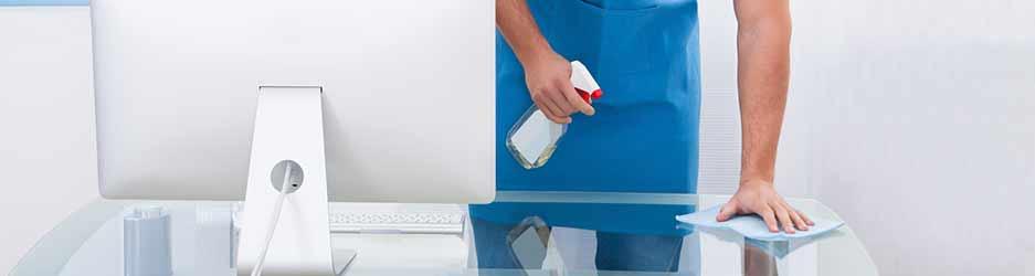 kantoren en algemene delen reinigen